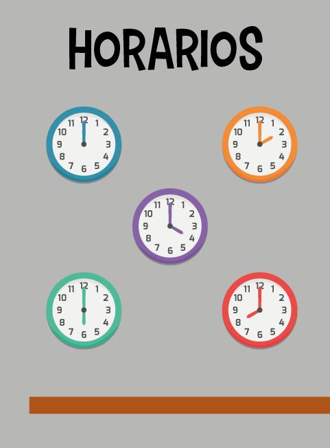 horario tirititran